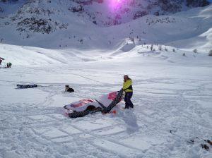 Lautaret - Snowkite - 005