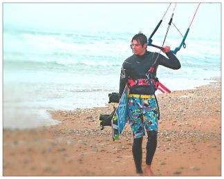 David on the beach 2