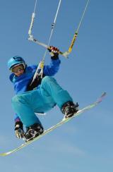 Le snowkite à l'honneur avec Jason Blanchard – FrozenMoments